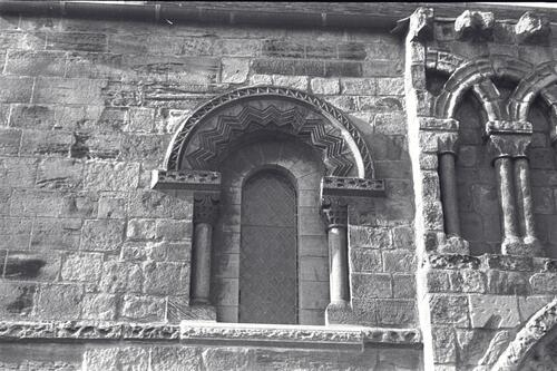 South entrance to Dalmeny Church,