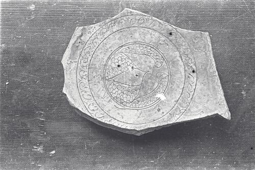 Pottery from the excavations at the Great Palace, Istanbul (Constantinople).