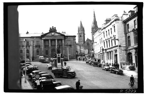 High Street & Courthouse, Omagh.