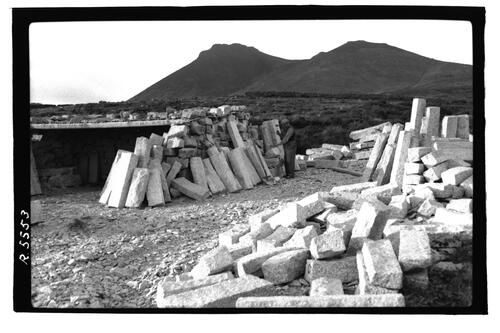 Shaping Mourne Granite.