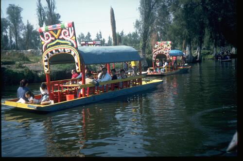 Xochimilco, Mexico City.