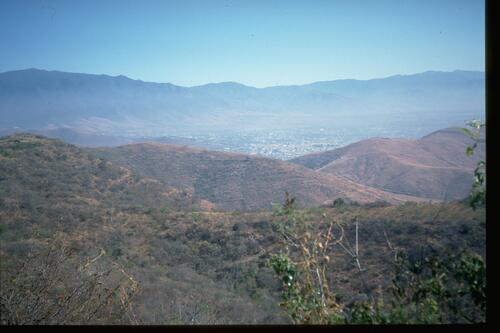 View from Monte Alban.