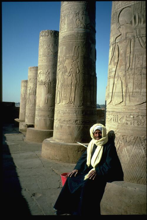 Kom-Ombo, the temple custodian.