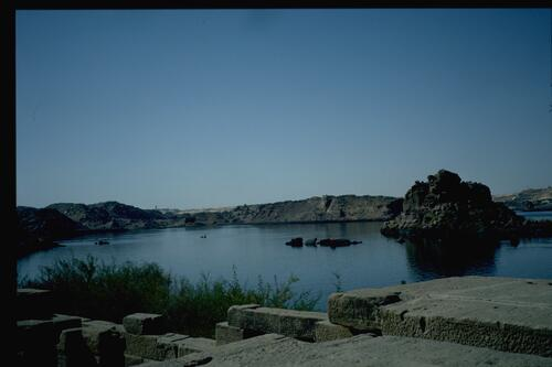 The view from Philae.