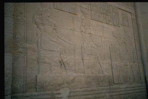 Philae, Temple Relief.