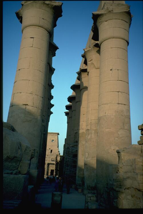 Luxor Temple. The Colonnade.