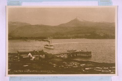 Pier and Goatfell, Brodick.