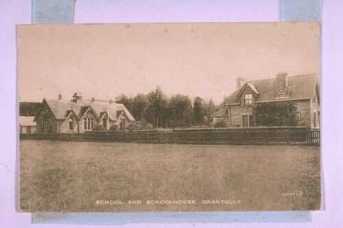 School & Schoolhouse, Grantully.
