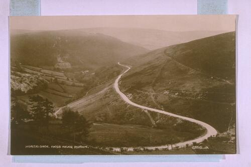 Horseshoe Pass, near Ruthin.