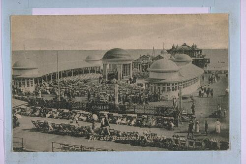 Pier and Bandstand, Hastings.