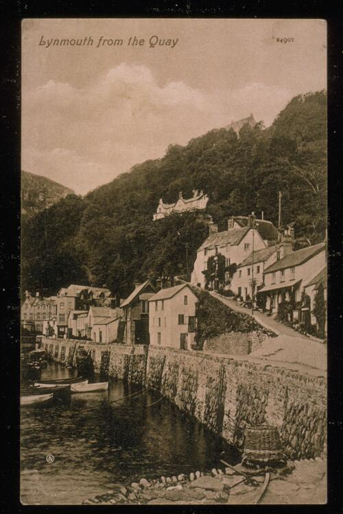 Lynmouth from the Quay.