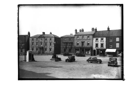 Market Place, Caistor.