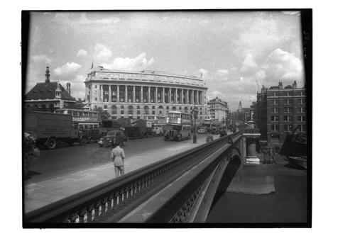 Unilever House and Blackfriars.