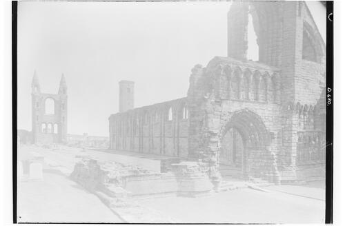 St Andrews Cathedral, West Front