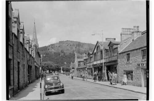 Bridge Street, Ballater.