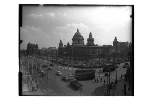 City Hall and Donegall Square.