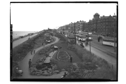North Shore Gardens, Blackpool.
