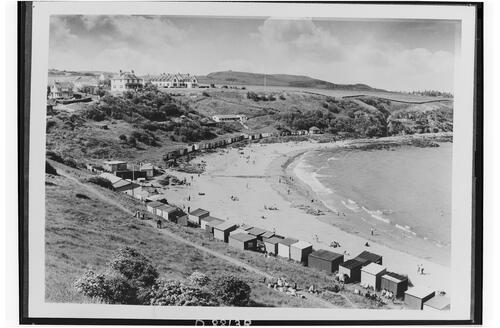 Coldingham Sands and St Abbs.