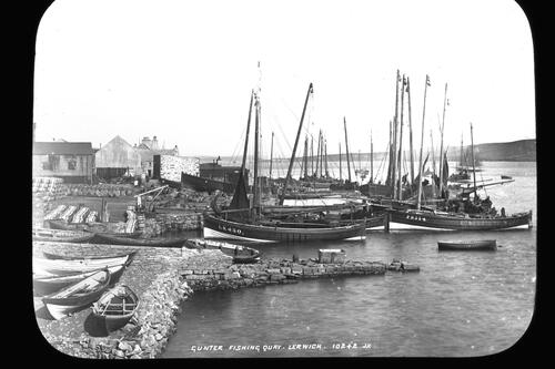 Gunter Fishing Quay, Lerwick.