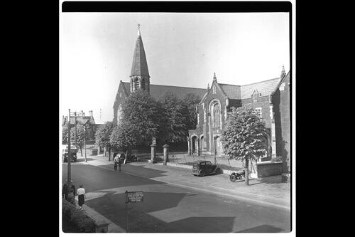 Courthouse & Church, Ballymena.