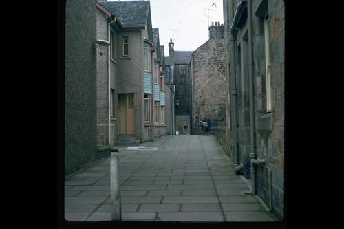 Baker Lane, St Andrews.