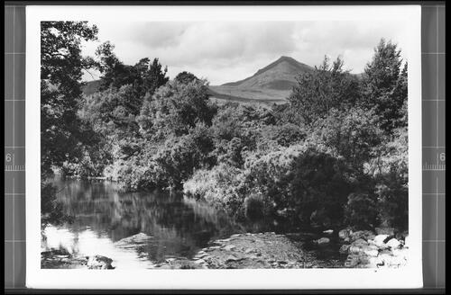 The Rosa Burn and Goatfell (Height 2866ft), Brodick, Isle of Arran.