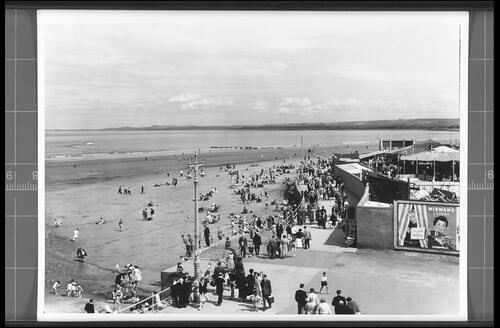 The Beach and Promenade, Portobello.