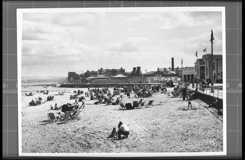 The Beach and Fun Fair, Portobello.