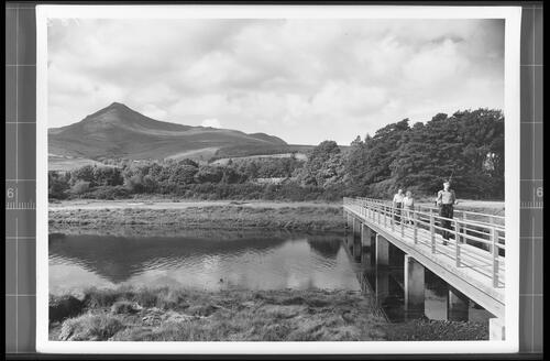 The Rosa Burn and Goatfell, Brodick, Arran