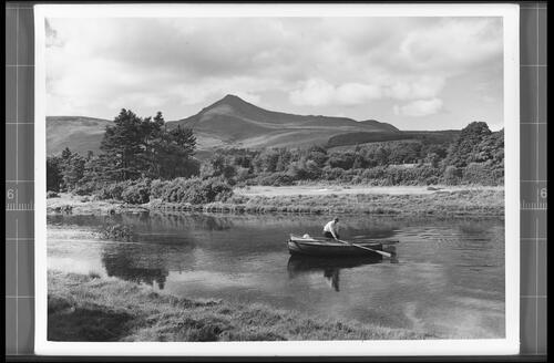 The Rosa Burn and Goatfell, Brodick, Isle of Arran