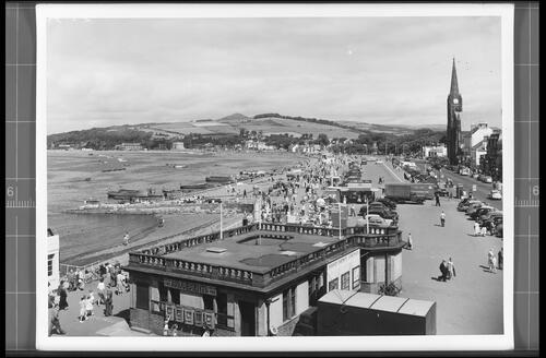 Victoria Esplanade and Bay, Largs.