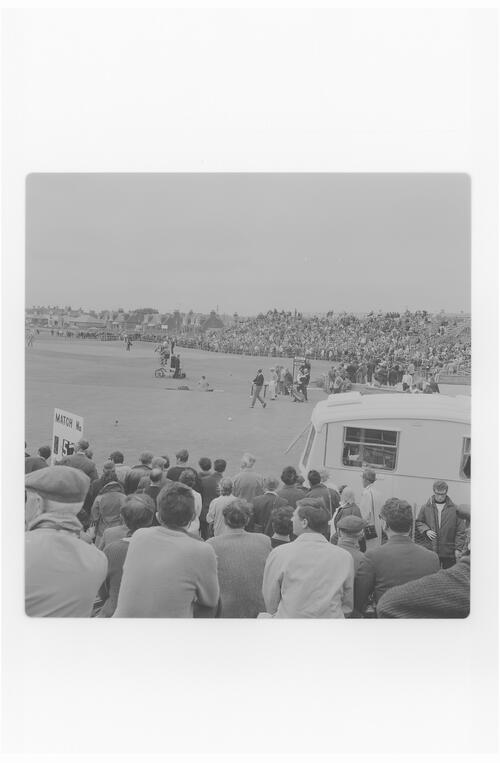 TV Camera at Carnoustie.