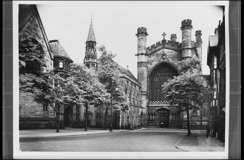 West Front, Chester Cathedral.