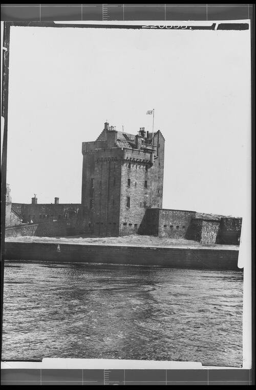Broughty Ferry Castle, Dundee.
