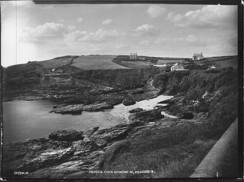 Prussia Cove looking West, Penzance.