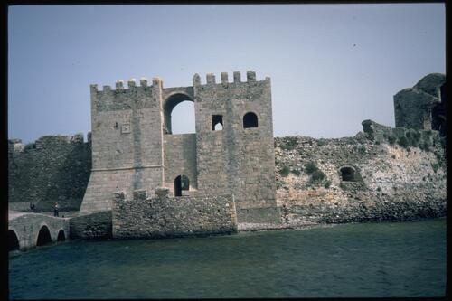 Sea Gate, Turkish Fort, Methone.