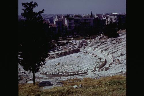 Theatre of Dionysis, Athens.