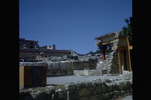 General view of Knossos.