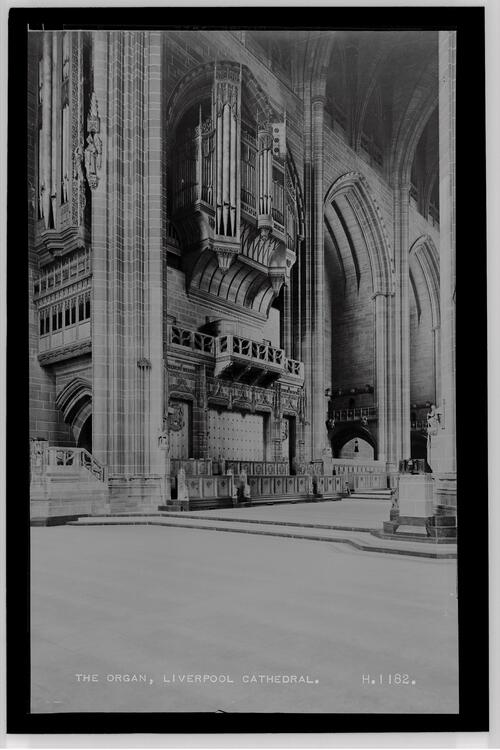 The Organ, Liverpool Cathedral.
