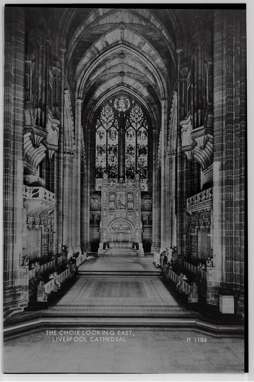 The Choir, Liverpool Cathedral.