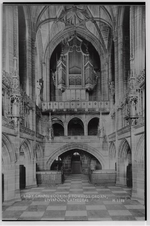 Lady Chapel,Liverpool Cathedral.
