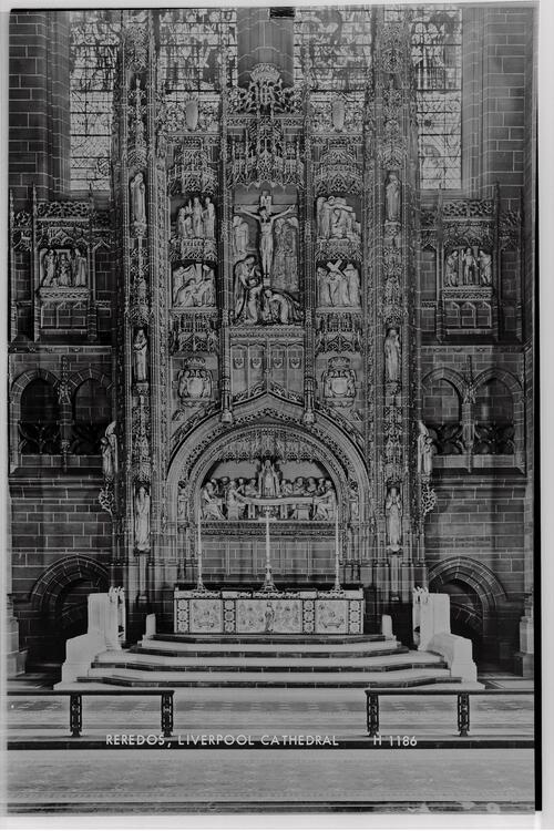 Reredos, Liverpool Cathedral.